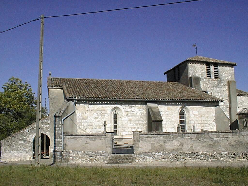 St Nazaire-de-Valentane église