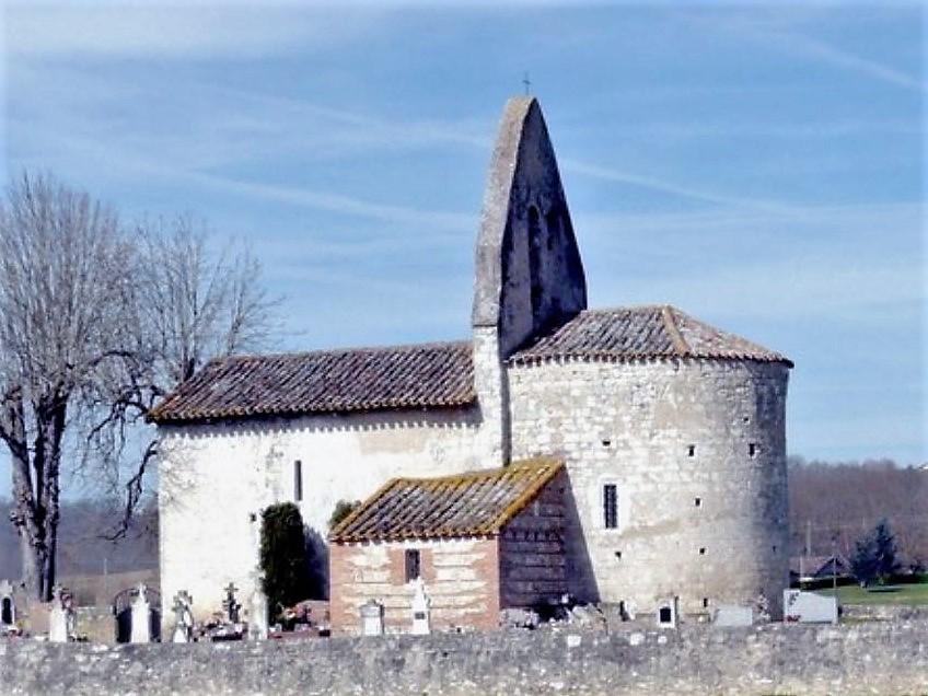 St Nazaire-de-Valentane chapelle St Sernin des Pintiers